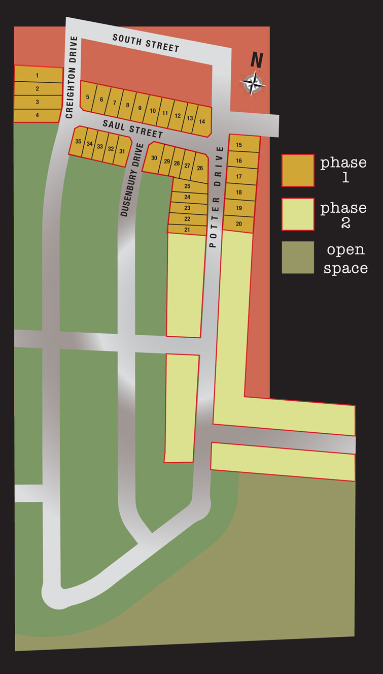 Babcock Mills Site Layout Plan